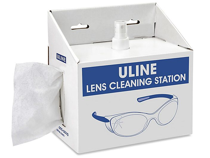 ULINE Lens Cleaning Station